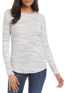 Karen Kane Brushed Ribbed Top