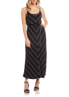 Karen Kane Camisole Blouson Maxi Dress