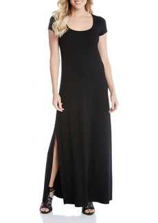 Karen Kane Cap Sleeve Maxi Dress