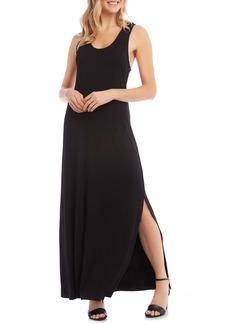 Karen Kane Cara Cross Back Maxi Dress