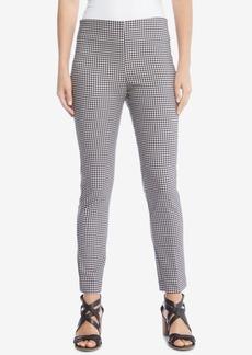 Karen Kane Checkered Skinny Pants