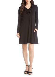 Karen Kane Chloe Cowl Neck Swing Dress