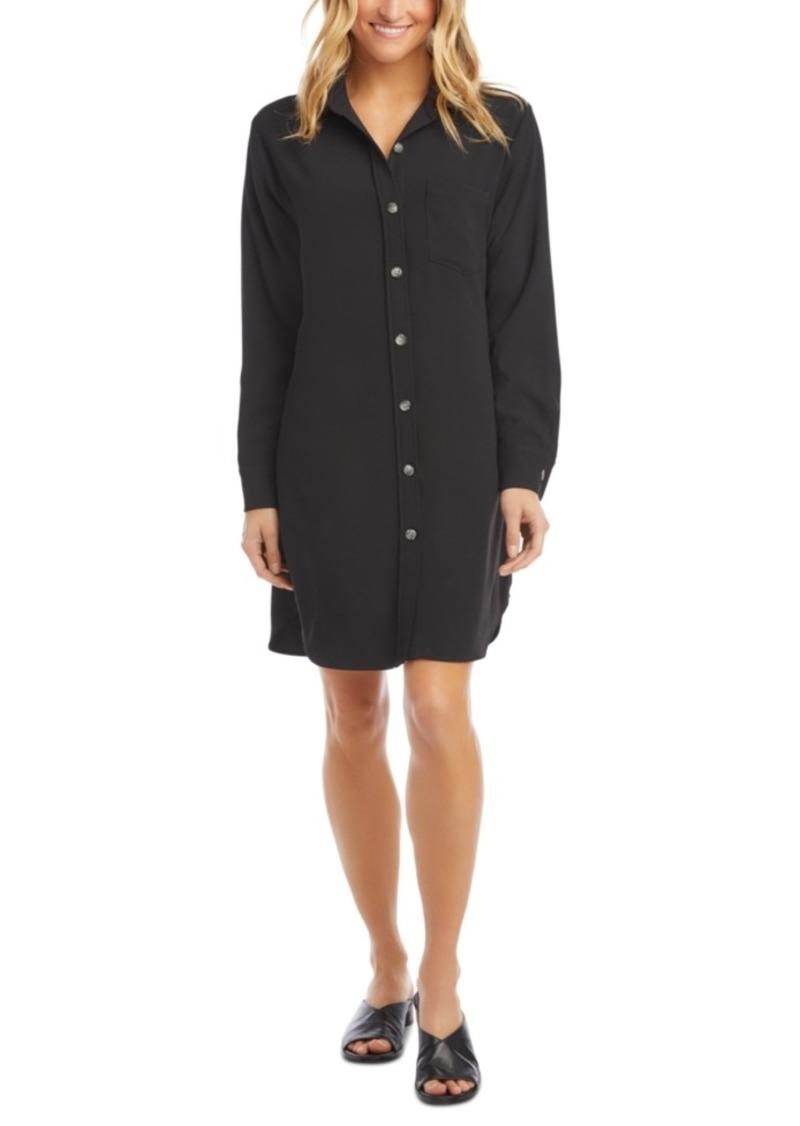 Karen Kane Classic Pocket Shirtdress