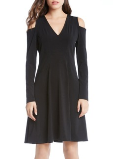 Karen Kane Cold Shoulder Dress