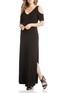 Karen Kane Cold Shoulder Maxi Dress - 100% Exclusive