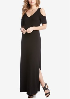 Karen Kane Cold-Shoulder Maxi Dress