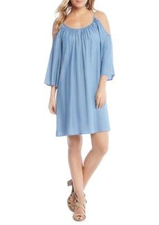 Karen Kane Cold-Shoulder Shift Dress
