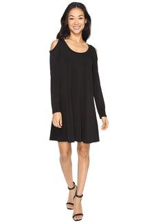 Karen Kane Cold Shoulder Trapeze Dress