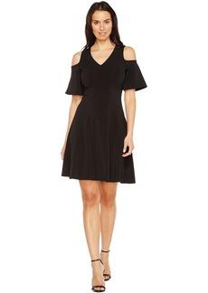 Karen Kane Cold Shoulder Travel Dress