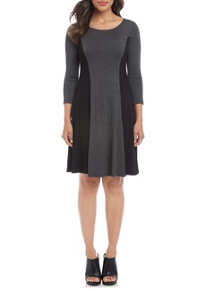 Karen Kane Colorblock A-Line Dress