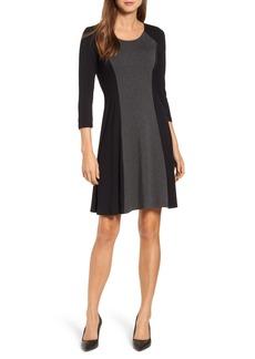 Karen Kane Colorblock Stretch Jersey Dress