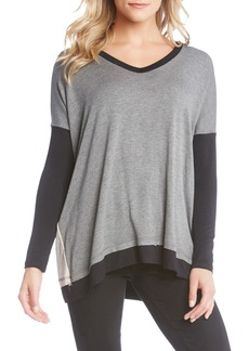 Karen Kane Colorblock Top