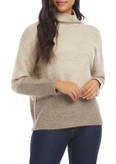 Karen Kane Colorblock Turtleneck Sweater