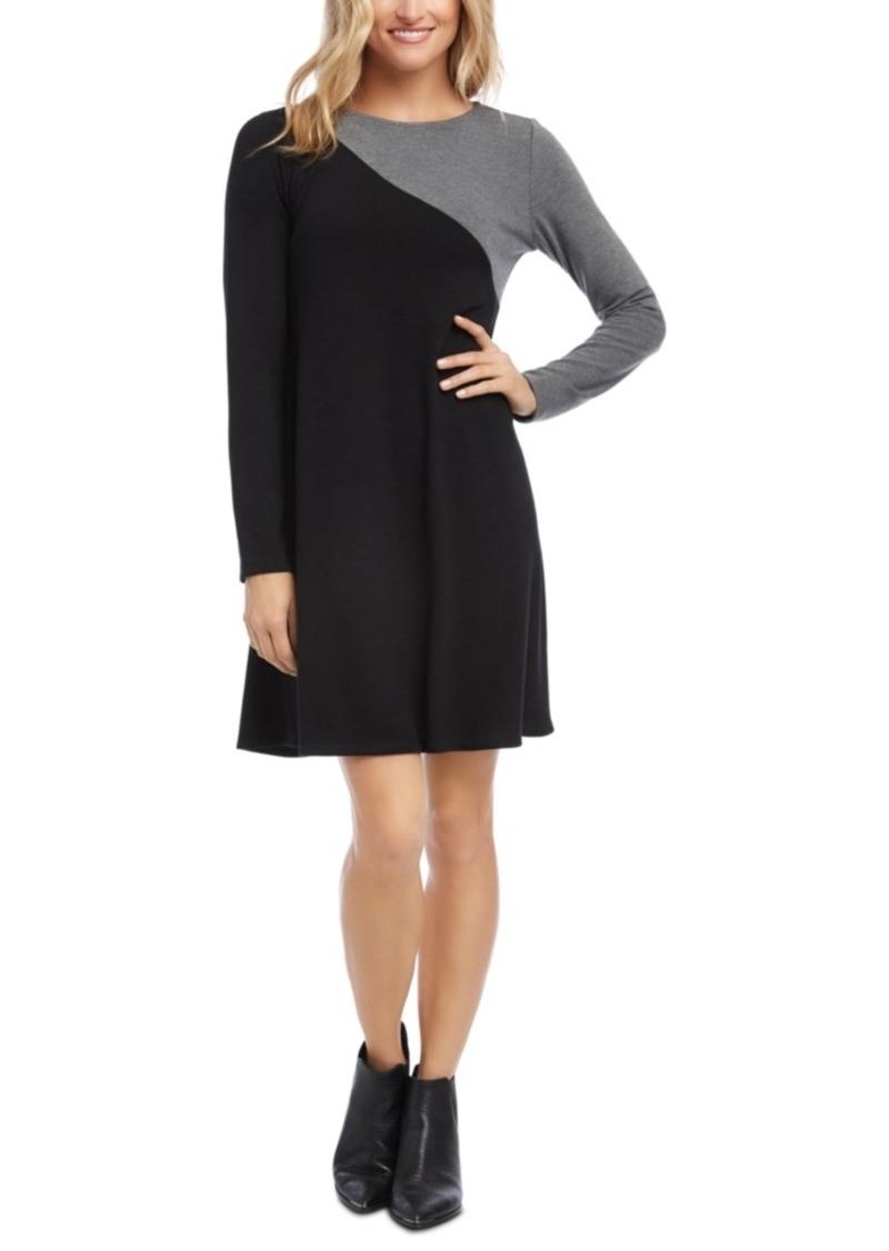 Karen Kane Colorblocked Sweater Dress