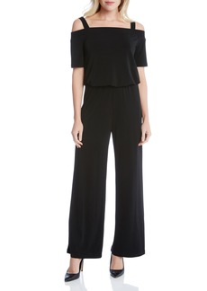 Karen Kane Convertible Off the Shoulder Jumpsuit
