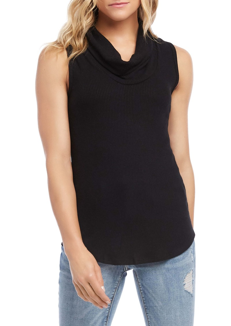 Karen Kane Cowl Neck Sleeveless Top