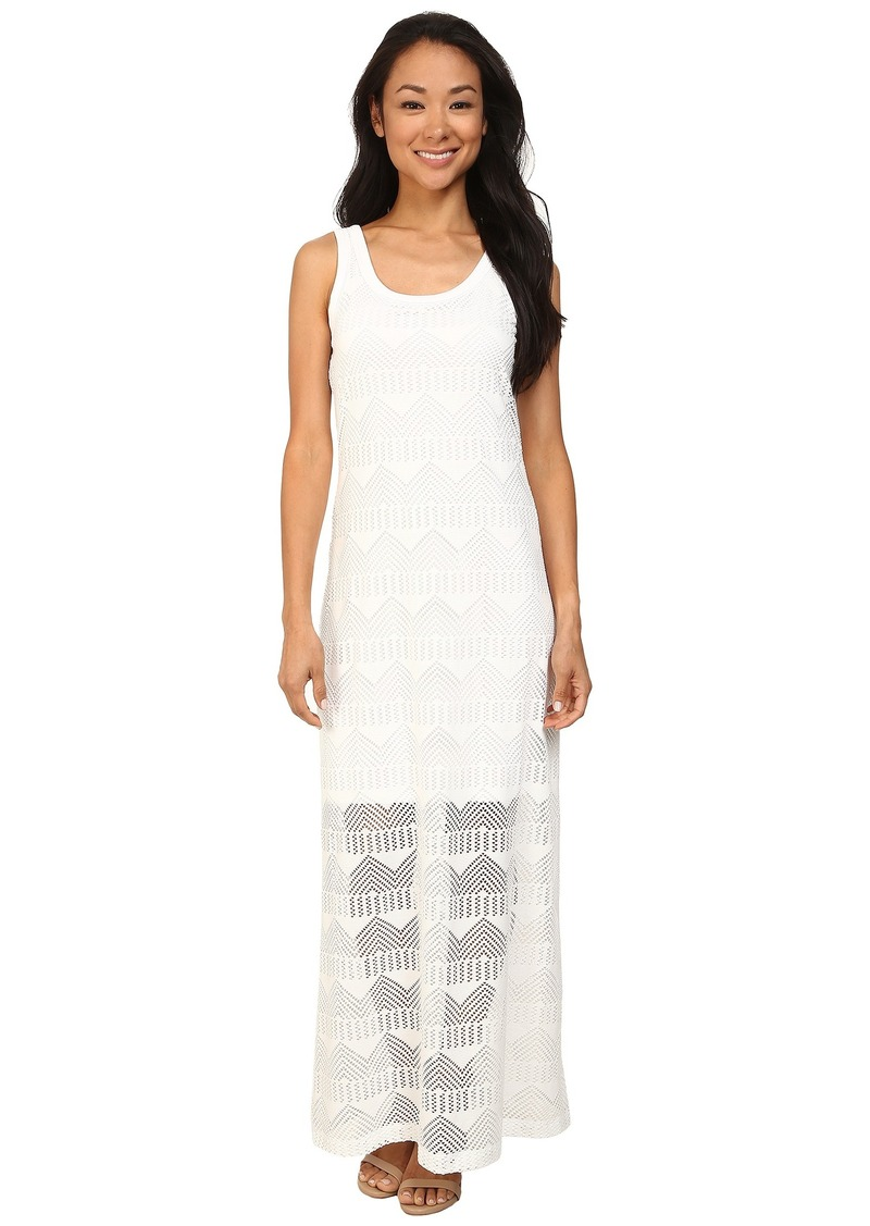 Karen Kane Crochet Maxi Dress