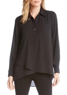 Karen Kane Crossover Shirt