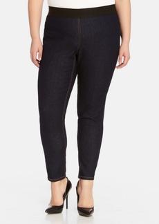 Karen Kane Dark Rinse Denim Leggings (Plus Size)