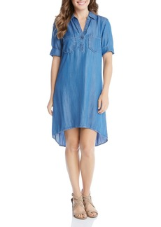 Karen Kane Denim Shirt Dress