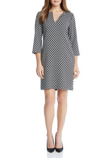 Karen Kane Diamond Print Tunic Dress