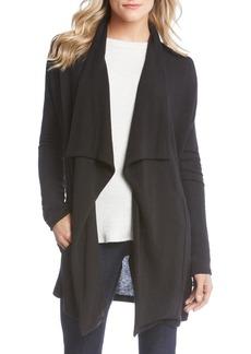 Karen Kane Drape Front Pocket Sweater