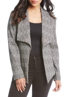 Karen Kane Draped Open-Front Jacket