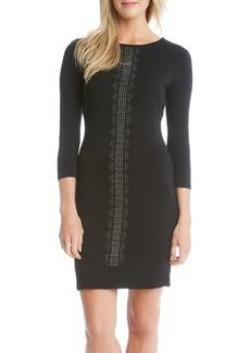Karen Kane Embellished Jersey Body-Con Dress