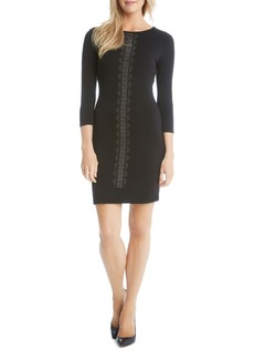 Karen Kane Embellished Sheath Dress