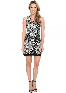 Karen Kane Embroidered Lace Dress