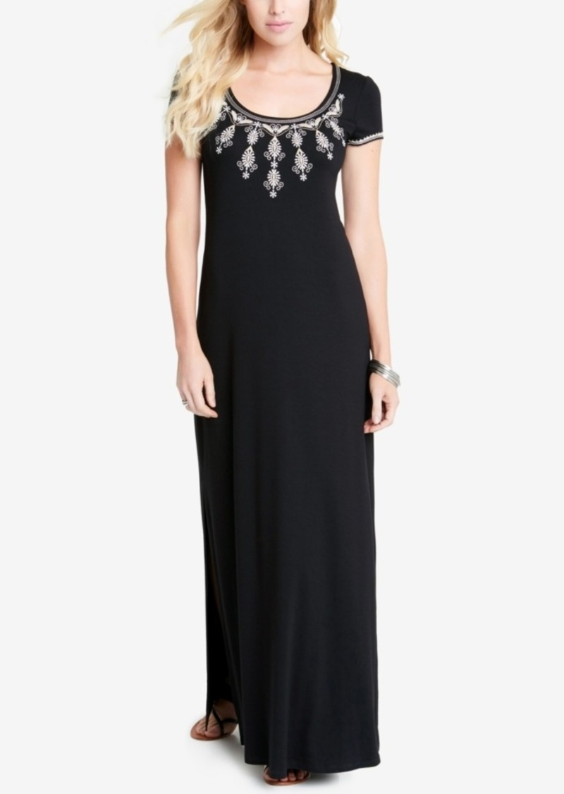 eb1e933ddac Karen Kane Karen Kane Embroidered Maxi Dress