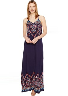 Karen Kane Embroidered Maxi Dress