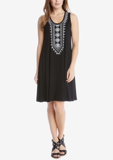 Karen Kane Embroidered Shift Dress
