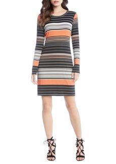 Karen Kane Ensenada Stripe Sheath Dress