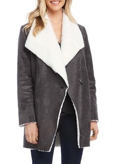 Karen Kane Faux Shearling Coat