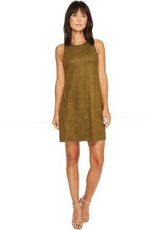 Karen Kane Faux Suede A-Line Dress