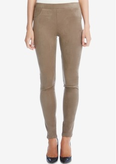 Karen Kane Faux-Suede Pull-On Skinny Pants