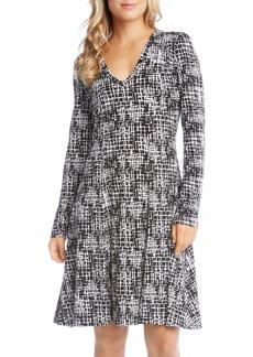 Karen Kane Fit & Flare Dress