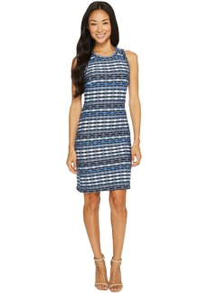 Karen Kane Fitted Jacquard Dress