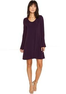 Karen Kane Flare Sleeve Taylor Dress