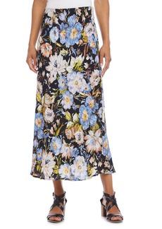 Karen Kane Floral A-Line Skirt