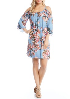 Karen Kane Floral Fresco Dress