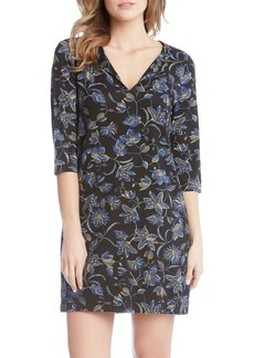 Karen Kane Floral Print Shift Dress