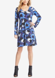 Karen Kane Floral-Print Shift Dress