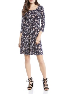 Karen Kane Floral-Print Swing Dress