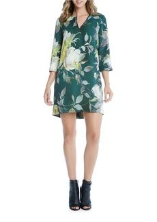 KAREN KANE Floral Printed Shift Dress