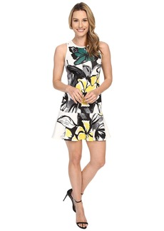 Karen Kane Floral Scuba Flirt Dress