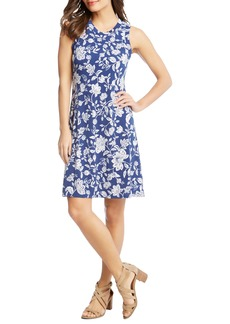 Karen Kane Floral Sleeveless Dress