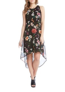 Karen Kane Floral Sleeveless Shift Dress