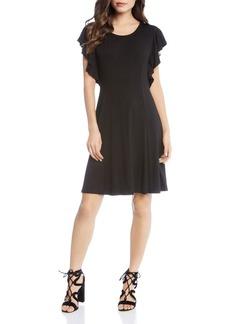 Karen Kane Flutter Sleeve Dress